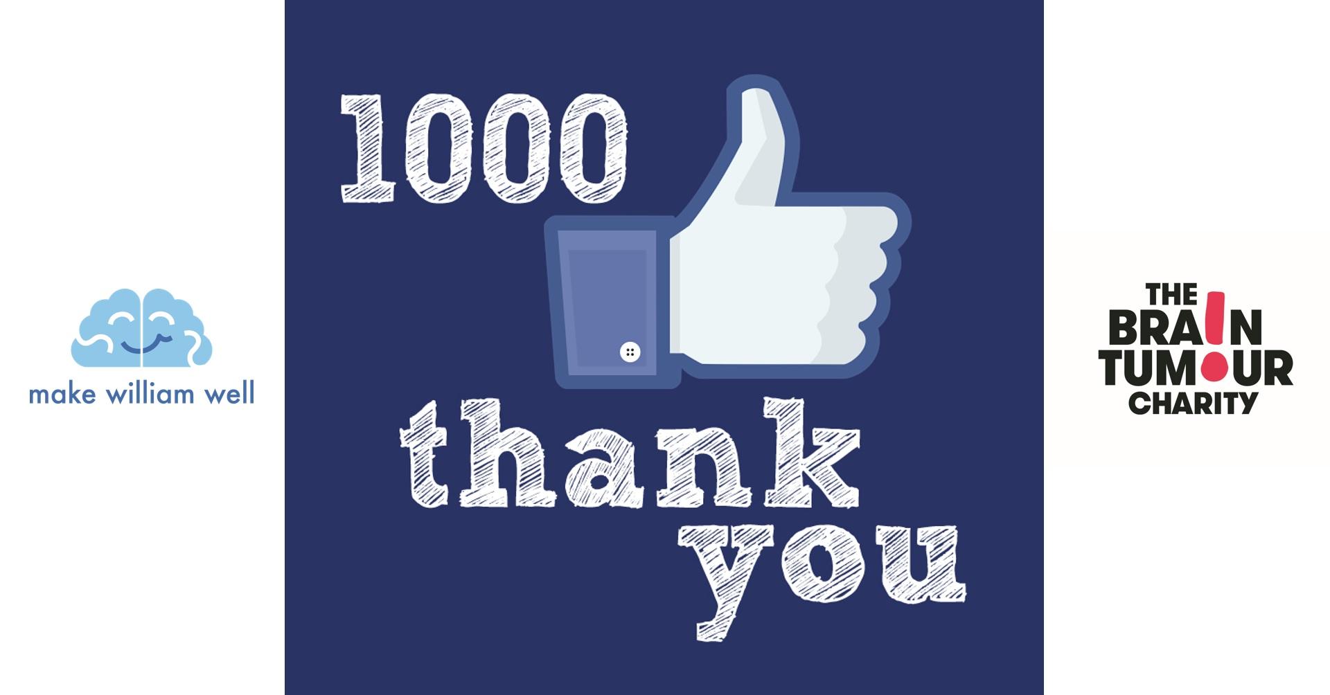 1000 Likes Post